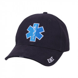 BASEBALL hat E.M.T. NAVY BLUE