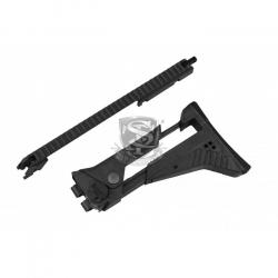 IDZ pažba s nízkou transportní rukojetí pro G36, černá