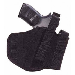 Bothsides hip holster and integral magazine pouch for Walther P99, GLOCK 17, HK-USP, SIG P228