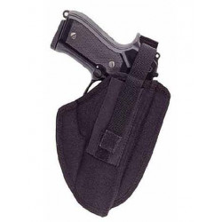 Shaped onesides hip holster for CZ 75/85, CZ 75 SP 01, GLOCK 17, SIG P 226, Beretta 92