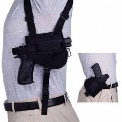 Shoulder holster horizontal combinate with JRZ for Pi. CZ 75/85, CZ 75 D Compact, Browning BDA, Colt 1911