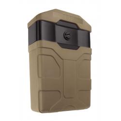 Rotační pouzdro na zásobník M16 / M4 / AR15 (NATO standard 5.56) KHAKI + molle úchyt