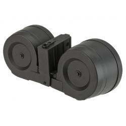 Zásobník pro SR25 2500 ran, dvojbuben, elektrický (sound control)