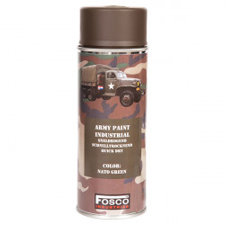 ARMY camouflage paint spray 400 ml OLIVE NATO