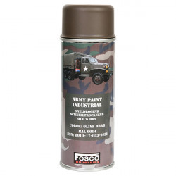 ARMY camouflage paint spray 400 ml OLIVE
