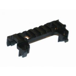 Montáž optiky pro H&K MP5/G3, nízká