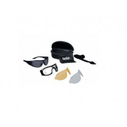 Goggles Bollé Raider-clearPC ASAF,Yellow,Smoke and RX