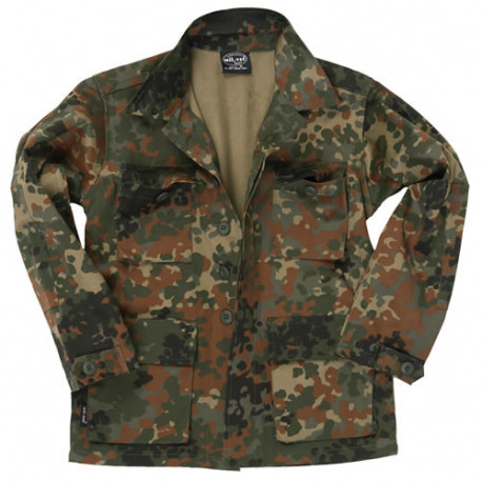Children Shirt U.S. BDU Field type Flecktarn, size XS