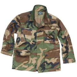 Children Shirt U.S. BDU Field typewoodland, size XS