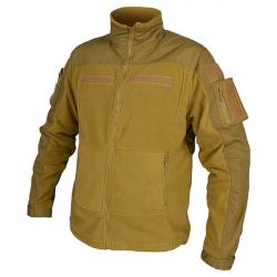 COMBAT Fleece Jacket COYOTE, size S