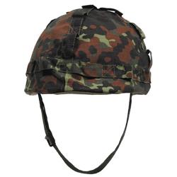 Helmet with plastic coating Flecktarn
