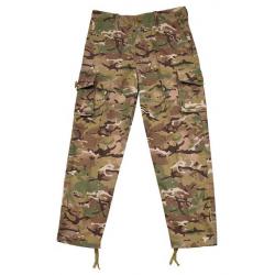 Kalhoty dětské maskování BTP, velikost 7-8 let