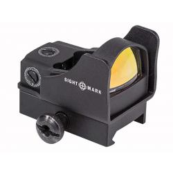 Kolimátor Sightmark Mini Shot Pro Spec w/Riser Mount, Červená tečka