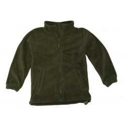 Children\'s sweatshirt FLEECE OLIV, SIZE 110 / 4 years