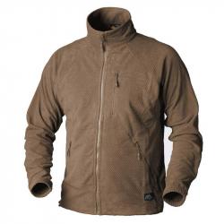 Mikina funkční fleece ALPHA TACTICAL - COYOTE, vel.S