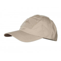 Baseball Cap rip-stop with velcro KHAKI