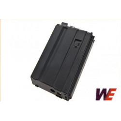 WE 20-rd Open Bolt Gas Magazine for M4 /M16 / XM177/ SCAR/L85/T91/PDW GBB series (Black)
