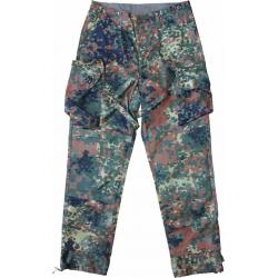 LEO KÖHLER KSK trousers, flecktarn, size S