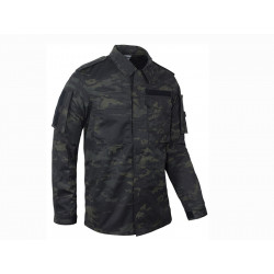 KSK-field jacket, Multicam - black, size S