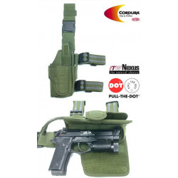 Tornado Tactical Thigh Holster - Leif Handed (olive drab)