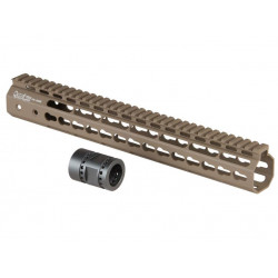 "13,5"" Keymod System Handguard Set, DARK EARTH"
