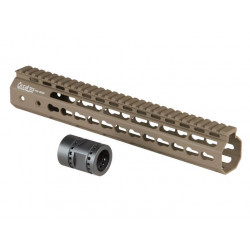 "12"" Keymod System Handguard Set, DARK EARTH"