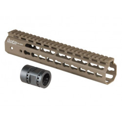 "10"" Keymod System Handguard Set, DARK EARTH"