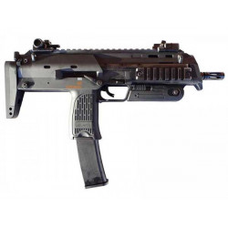 Marui MP7A1 Gas Blowback SMG ( Black )