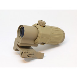 Element AIMO G33 Style 3X Magnifier with QD Mount ( Dark Earth )