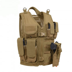 Children tactical vest COYOTE