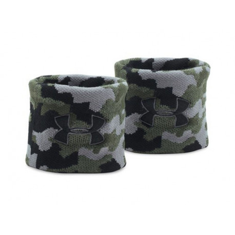 "Under Armour Jacquard Wristbands 3"", CAMO"