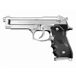 Beretta M92F GBB, Chrome Stainless
