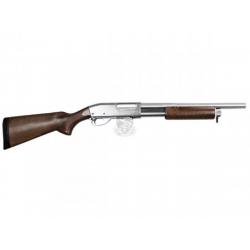Brokovnice M870 stříbrná (dřevo/kov) - limitovaná edice