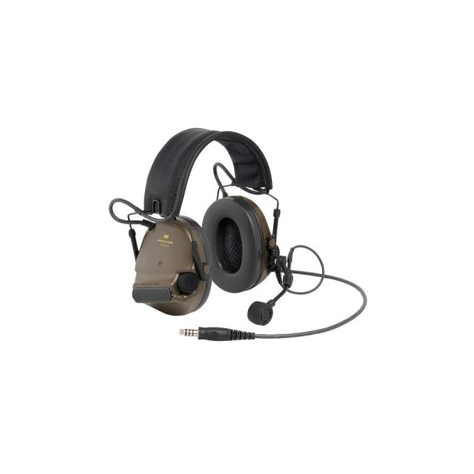 Peltor Comtac XPI Folding Headband Headset - Millitary Green