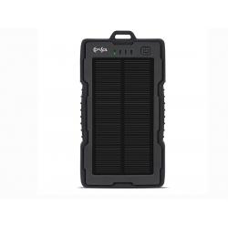 BANK SPB13 13000mAH solar power bank, black