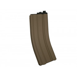WE 30 Rds Magazine for M4 Open-Chamber GBBR ( TAN )