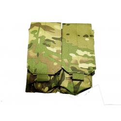 KJ.Claw M4 Double magazine pouch Molle (Multicam)