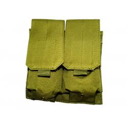 KJ.Claw M4 Double magazine pouch Molle (OD)