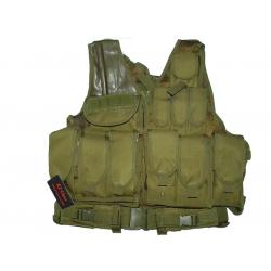 KJ.Claw Cross Draw 600D vest (OD)