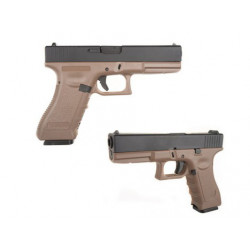 Army R17 GBB pistol (Tan Frame)