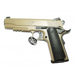 Full metal R28 Kimber Warrior GBB pistol (Tan)
