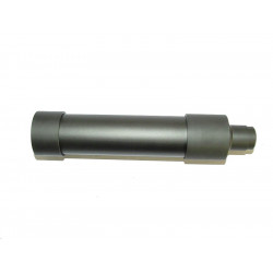 Action MPX QD Silencer for KSC MP9 / TP9 w/ 14mm- Adapter ( 45 x 186mm )