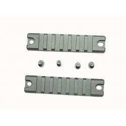 Hliníkové RIS kolejnice pro Umarex / VFC MP7A1 GBB