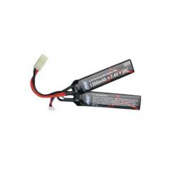 Baterie ASG 7,4V / 1300mAh 25C Li-Pol dvojdílná