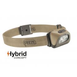 Flashlight Headlamp TACTIKKA+ RGB Hybrid DESERT