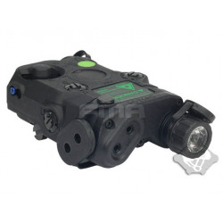 FMA AN-PEQ-15 Upgrade Version - LED White light + Green laser with IR Lenses BK