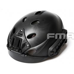 Taktická helma Special Force Recon, černá
