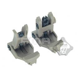 FMA 71L F/R Folding Sight Set (DE)