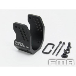FMA Metal P90 Sling Swivel End