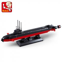 Stavebnice Atomová ponorka